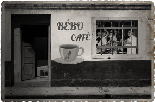 The Notorious Bébo Café Storefront