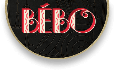Bébo Cuban Coffee Liquer Logo
